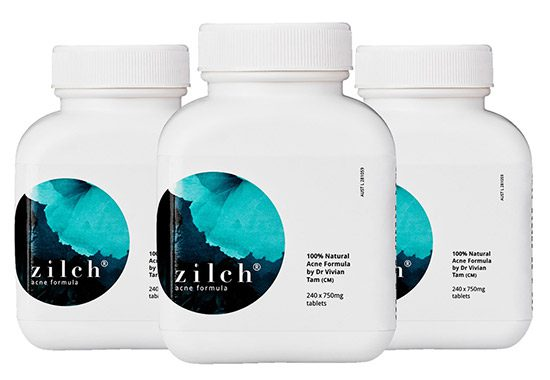 Zilch Acne Herbal Supplement